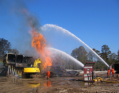 Fire Fighting and Blowout